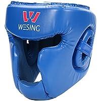 フルフェイストレーニングヘッドガードfor総合格闘技、ボクシング&タイ式by Wesing