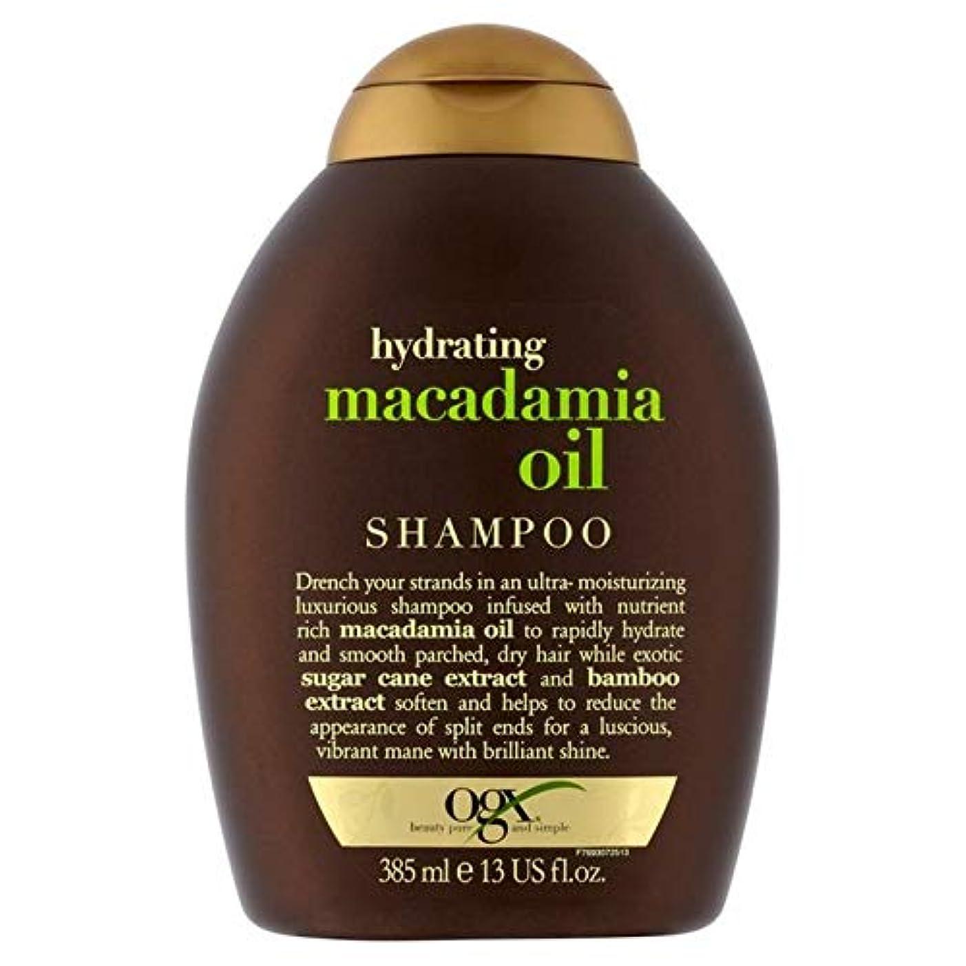 半導体ヒゲマラドロイト[Ogx] Ogx水和マカダミアオイルシャンプー385ミリリットル - OGX Hydrating Macadamia Oil Shampoo 385ml [並行輸入品]