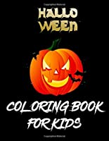 Halloween Coloring Book For Kids: The big Best halloween coloring  for toddlers