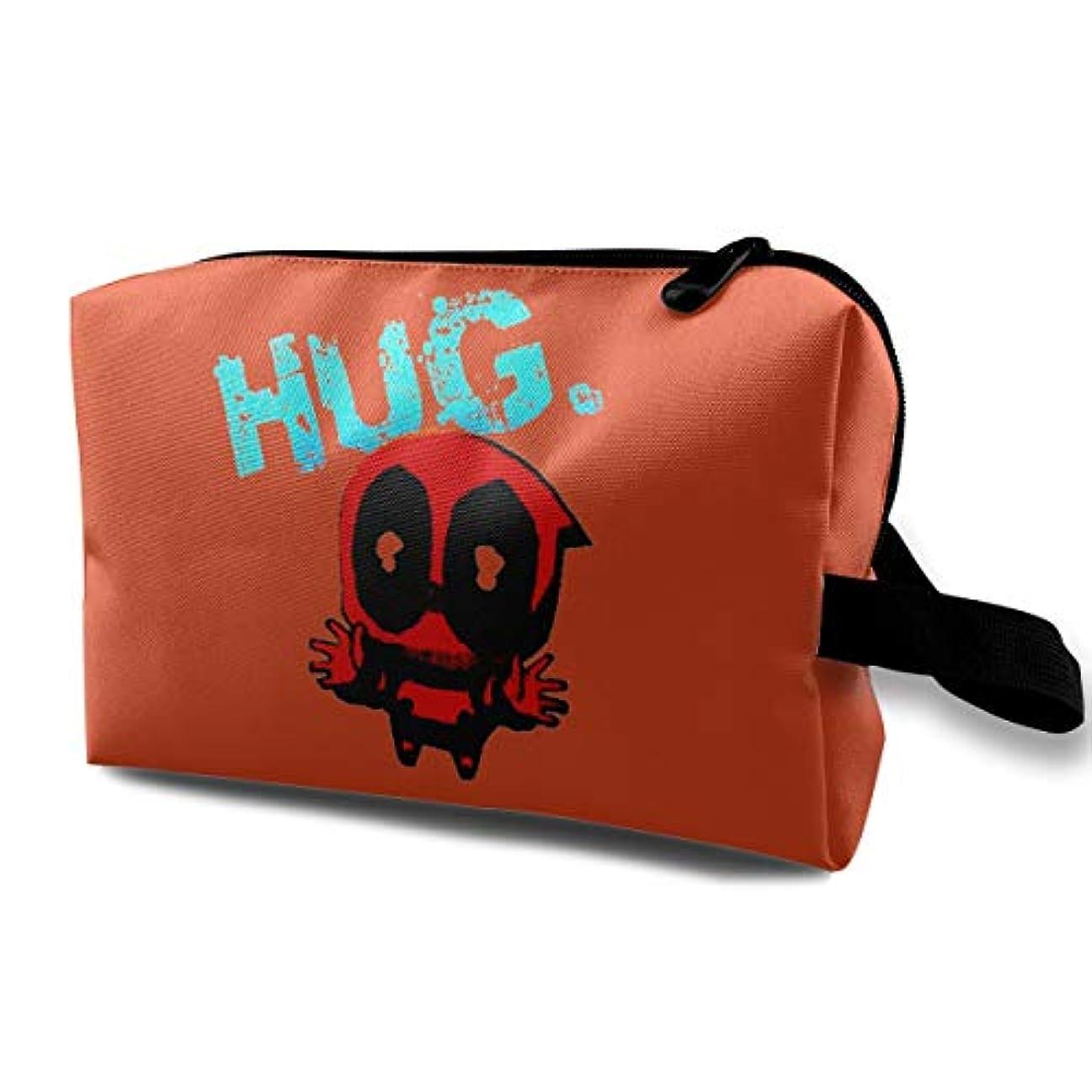 生きている男やもめ植物学HUG 可愛いメンズ 化粧ポーチ 携帯用 化粧ポーチ 大容量 軽い 旅行ポーチ 洗面用具入れ 化粧ポーチ 収納 ハンドバッグ 財布 防水