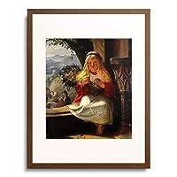 Kotsis, Aleksander,1836-1877 「Assumption Day about 1869」 額装アート作品