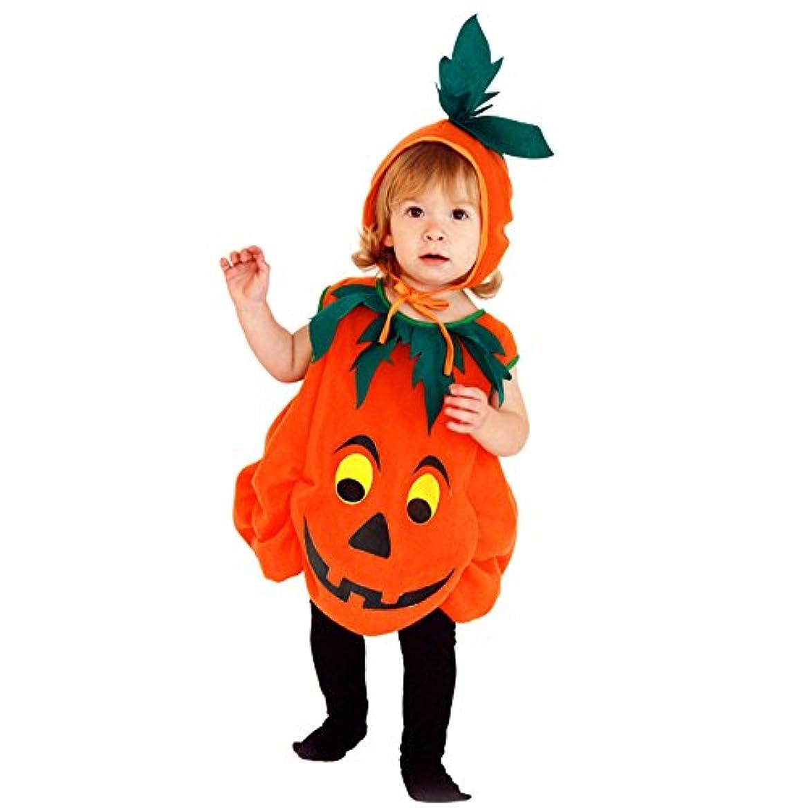 気質航海の工業化するハロウィン 衣装 子供 かぼちゃ ベビー S-win ジャックランタン 女の子 男の子 子供用 仮装 ダンス衣装 赤ちゃん 着ぐるみ パンプキンコスチューム