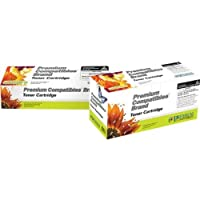 Premium Compatibles Inc. CE250XRPC Replacement Ink and Toner Cartridge for Hewlett Packard Printers, Black [並行輸入品]