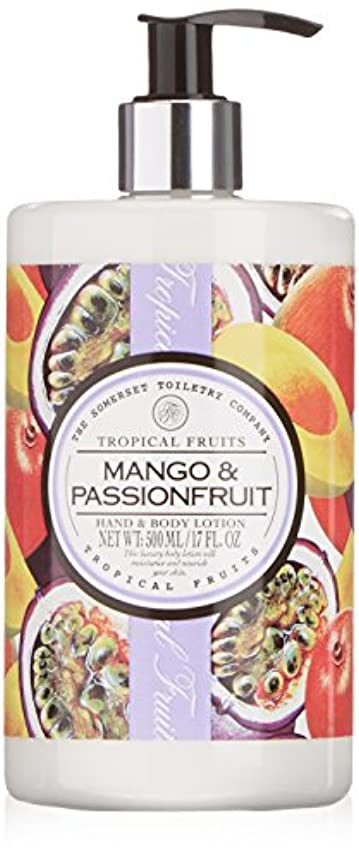 コーラス結論帝国主義Tropical Fruits Mango & Passionfruit Hand & Body Lotion 500ml
