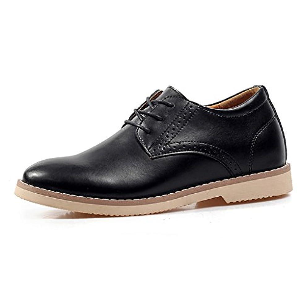 耐えられるマット電卓Iamoy メンズ靴 シークレット革靴 シークレットシューズ カジュアルシューズ  ビジネスシューズ 通勤