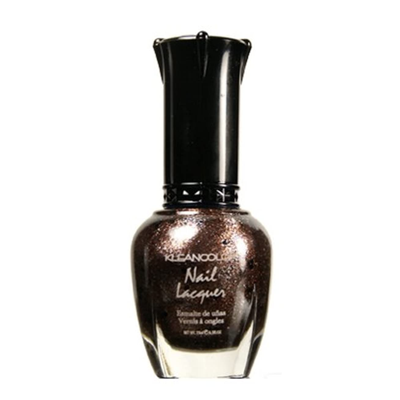 (6 Pack) KLEANCOLOR Nail Lacquer 4 - Mud Pie Sparklee (並行輸入品)