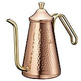 カリタ Kalita コーヒーポット 銅製 スリム 銅0.7L TSUBAME&Kalita 700CU #52203 画像