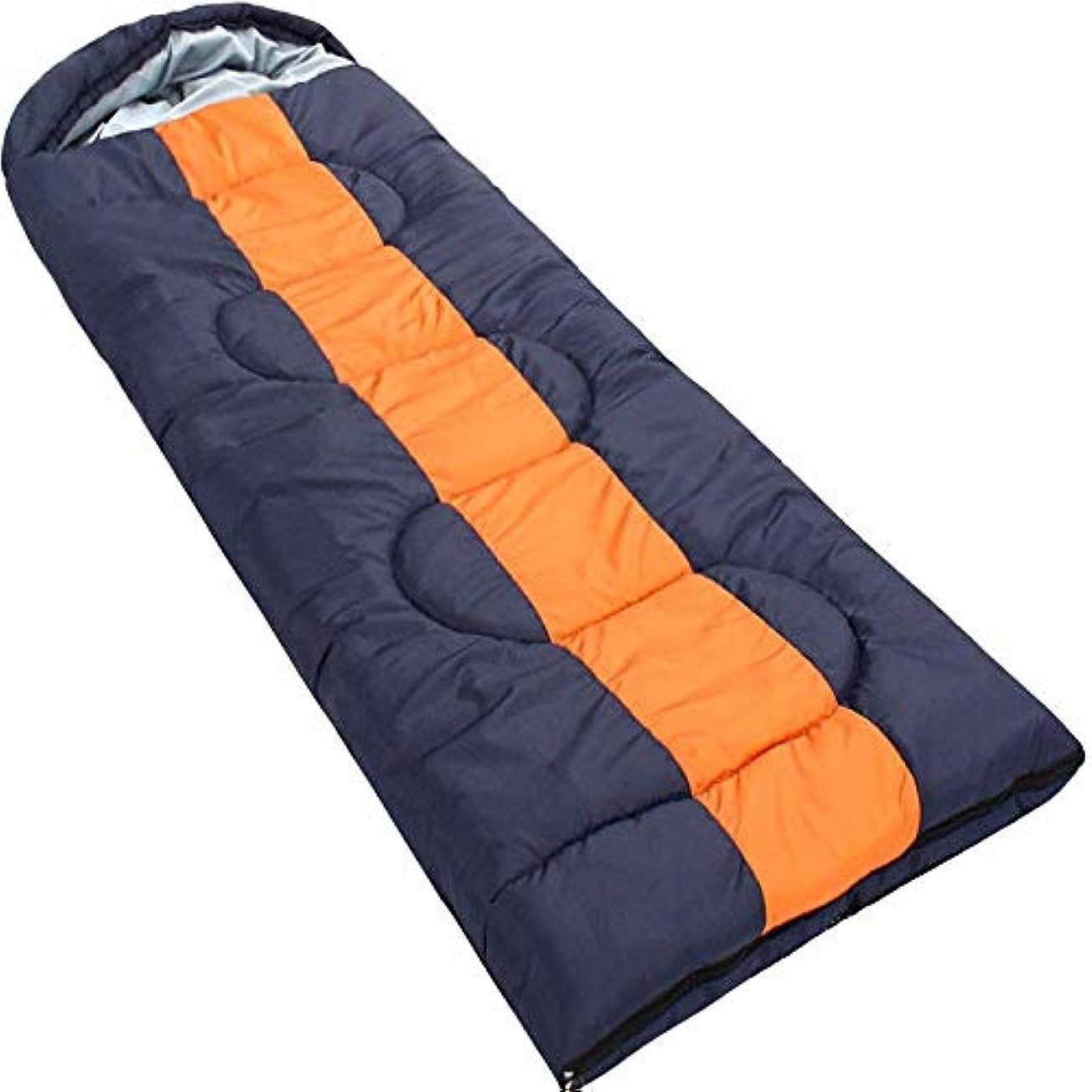 どうやってピアノを弾く海洋の軽量キャンプ寝袋フード付き大人コットン防水暖かい3-4シーズン封筒寝袋用屋内と屋外旅行ハイキング登山活動青