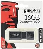 キングストン Kingston USBメモリ 16GB USB3.0 DataTraveler 100 G3 DT100G3/16GB 5年保証