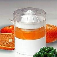 HQS - F006ホーム電動ジューサーオレンジレモングレープスイカジューサーミニポータブル家庭用電気ジューサー - ホワイト