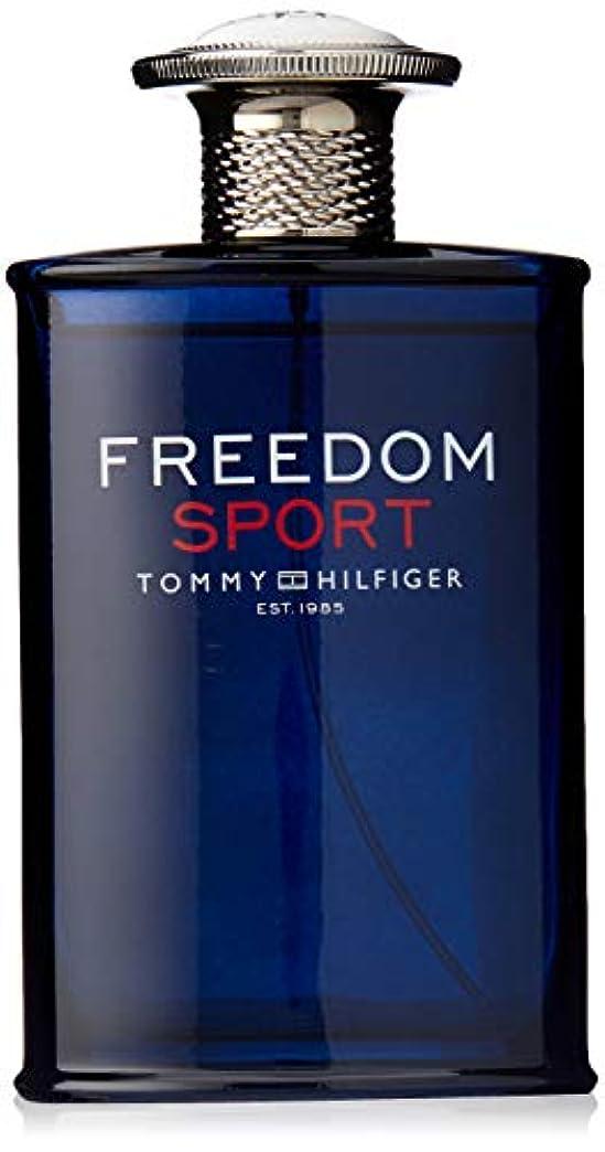 キャロラインセージ蒸留Tommy Hilfiger Freedom Sport 100ml/3.4oz Eau De Toilette Cologne Spray for Men