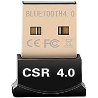 City-Center  Bluetooth USB Version 4.0 ドングル USBアダプタ Windows10/Windows8/Windows7/Vistaに対応(Macに非対応) (USBアダプタ)