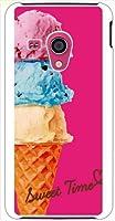 ohama SH-02F AQUOS PHONE EX ハードケース ca1162-1 3段アイス アイスクリーム スマホ ケース スマートフォン カバー カスタム ジャケット docomo