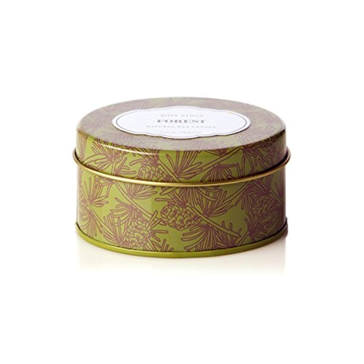 に対してロマンチックメトロポリタンロージーリングス トラベルティンキャンドル フォレスト ROSY RINGS Forest Travel Tin