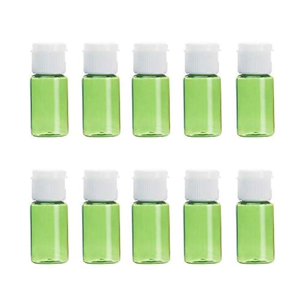 マウントセンサーの間にVi.yo 小分けボトル 香水ボトル 化粧水 詰替用ボトル 携帯用 旅行用品 10ml 10本セット グリーン