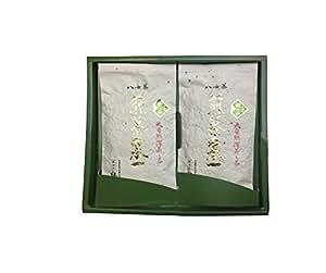 製茶匠鵜ノ池 八女煎茶「樹の抄」 深蒸し煎茶 200g(100g×2本)入り
