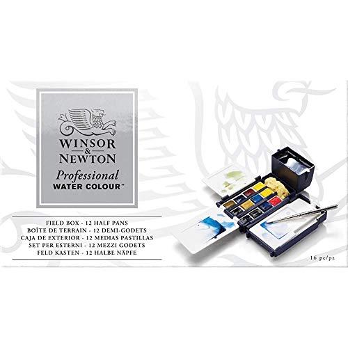 ウィンザー&ニュートン AWC 12HP フィールドボックスセット