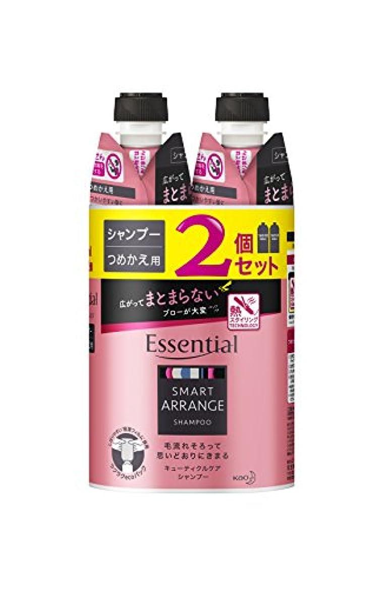 東方社会科傑作【まとめ買い】 エッセンシャル スマートアレンジ シャンプー つめかえ用 340ml×2個
