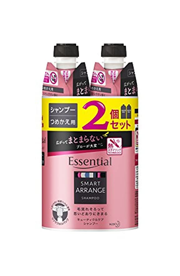 これまでモロニック副産物【まとめ買い】 エッセンシャル スマートアレンジ シャンプー つめかえ用 340ml×2個