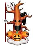 【ハロウィンエアブロウ】ハロウィンツリー (1個) / お楽しみグッズ(紙風船)付きセット [おもちゃ&ホビー]