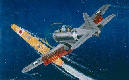 1/32 米海軍 SBD-3 4 ドーントレス 急降下爆撃機