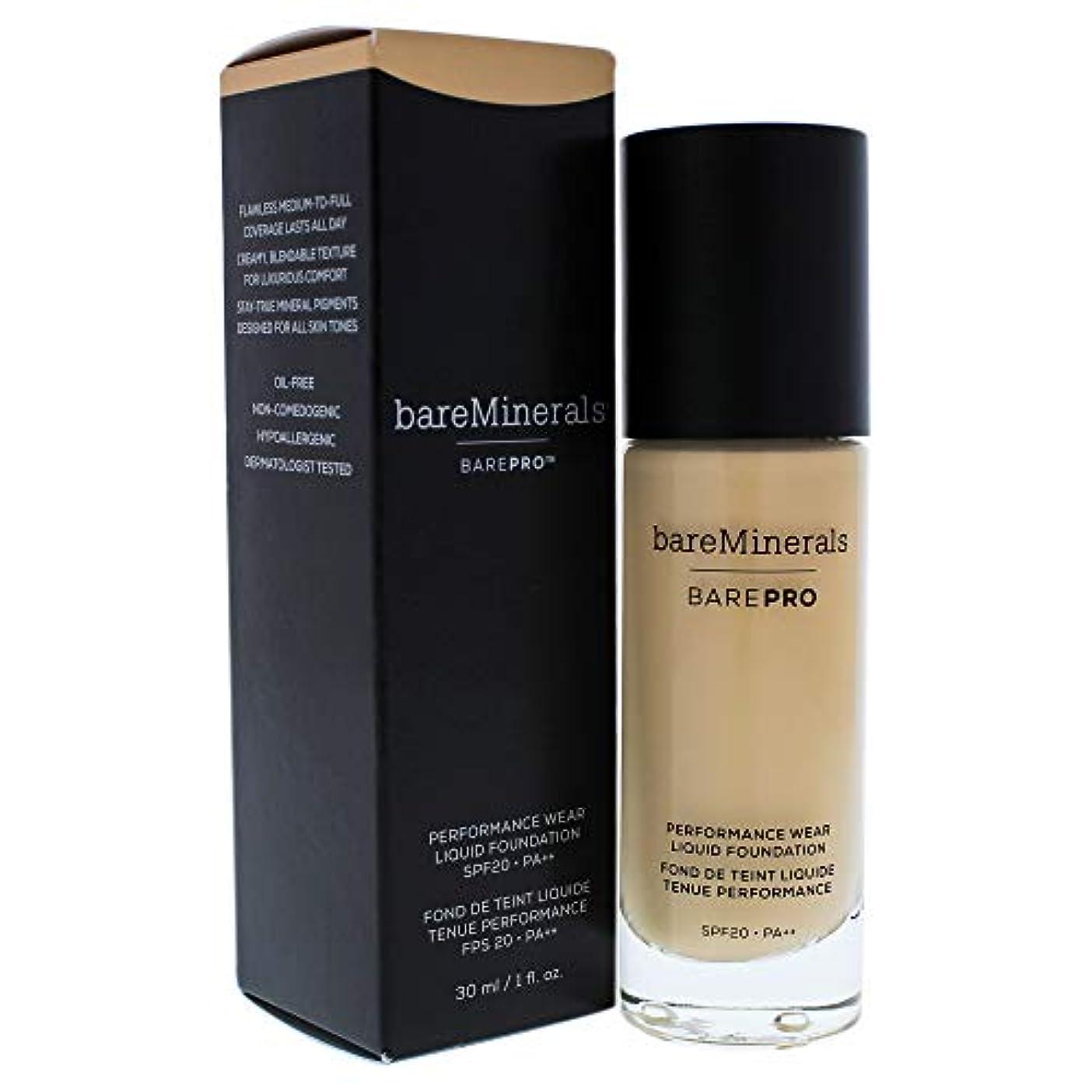キャラクター面積深めるBarepro Performance Wear Liquid Foundation SPF 20-13 Golden Nude