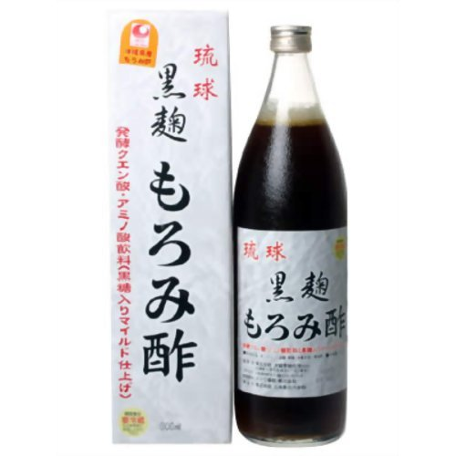 [6本]琉球黒麹もろみ酢(加糖) 900mL 6本...