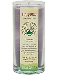 海外直送品Candle Chakra Jar, Happiness 11 oz by Aloha Bay