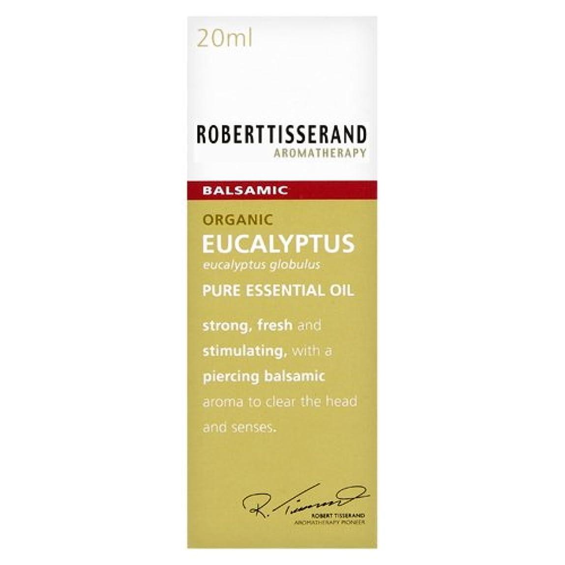 徐々に冷笑するすずめロバートティスランド 英国土壌協会認証 オーガニック ユーカリ グロブルス 20ml