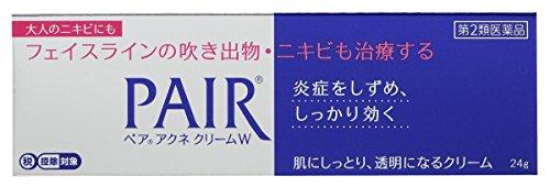 【第2類医薬品】ペアアクネクリームW 24g ※セルフメディケーション税制対象商...