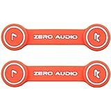 ZERO AUDIO ヘッドホンクリップ オレンジ ZA-CLP-OW 2個入