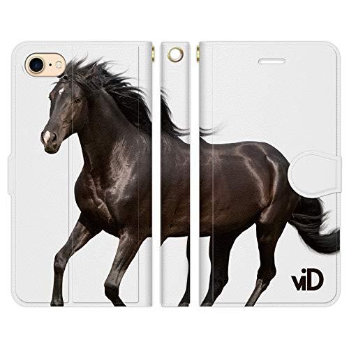 iPhone8 iPhone7 手帳型 ケース カバー サラ...
