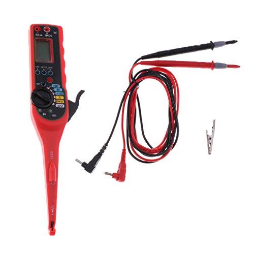 Baosity 自動車回路テスター 電気回路テスター テストツール 多機能 LED カー自動パワー 液晶画面ディスプレイ
