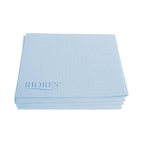 RIORES (リオレス) おりたたみ ヨガマット 5mm 収納ケース付き/ヨガマット おりたたみ 軽量 トレーニングマット エクササイズマット (ブルー)