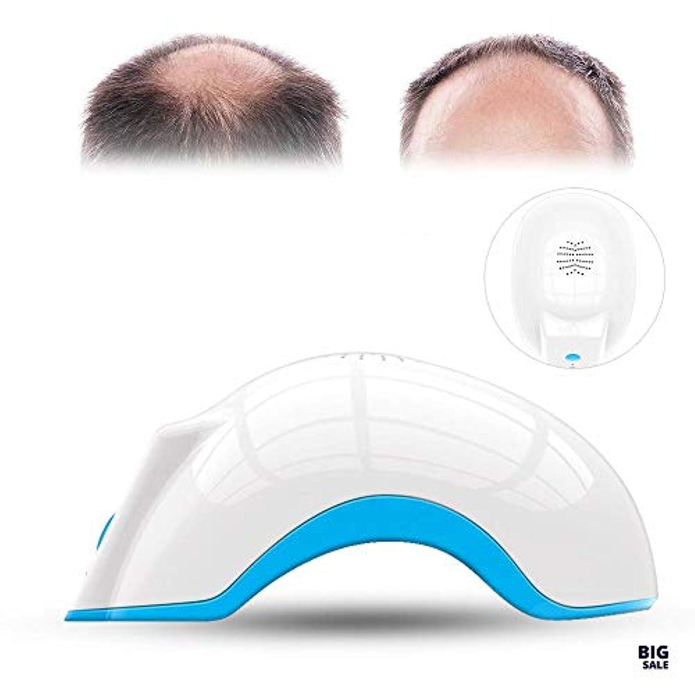 定説新鮮なジャンクMOLLYNANA 脱毛再生治療用ヘルメット抗脱毛マッサージ療法治療脱毛症キャップ脱毛再生用ヘルメット