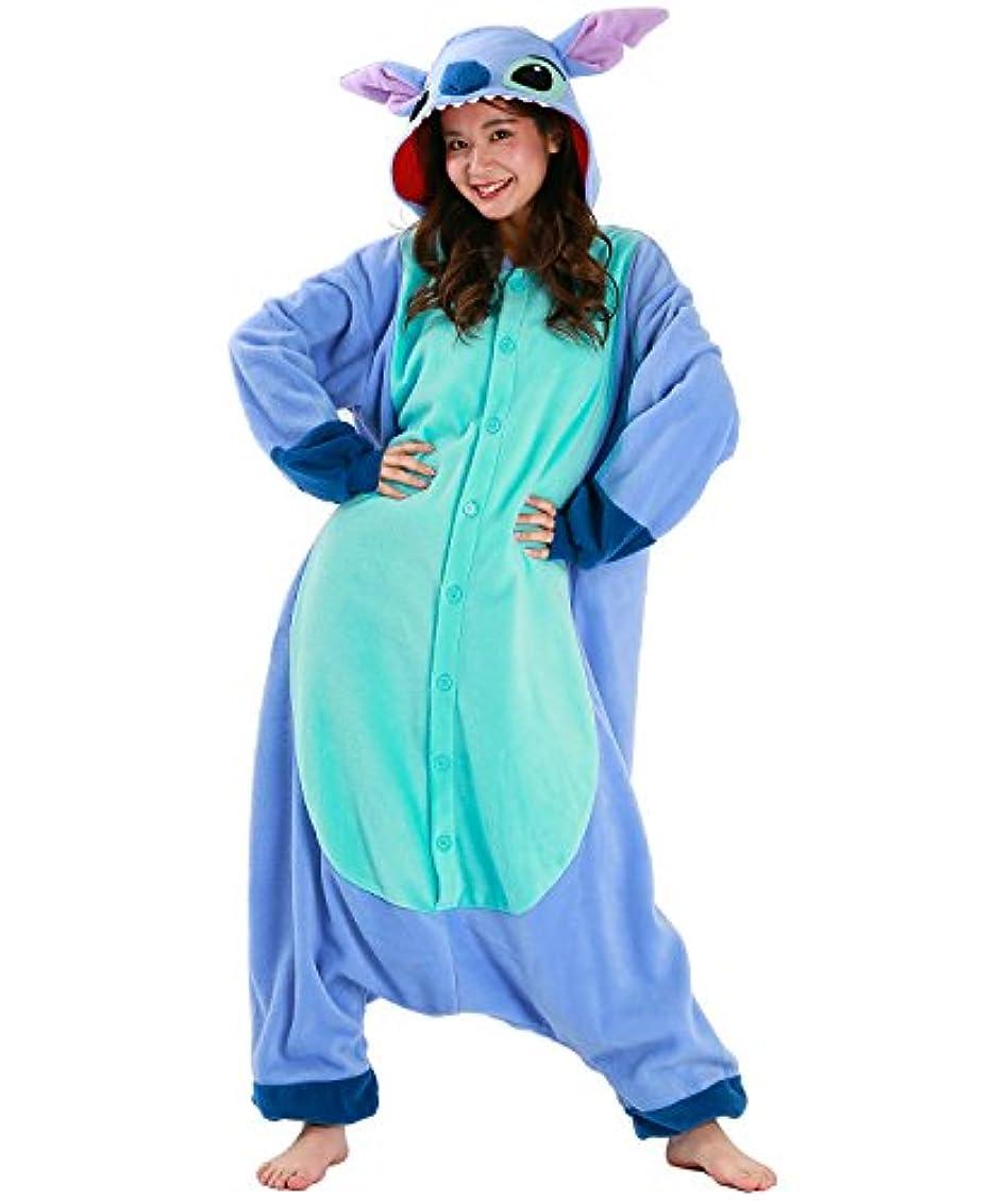 テラス苦いラフディズニー リロアンドスティッチ 着ぐるみ コスプレ衣装 男女共用 フリーサイズ RBJ-046 フリース