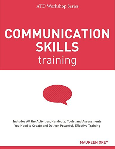 Download Communication Skills Training (Atd Workshop Series) 1562869655