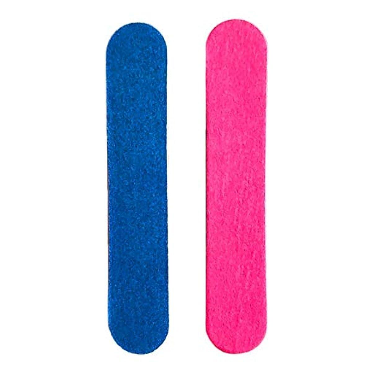 フローメダリスト設置BETTER YOU (ベター ュー) 両面 ネイル 砂紙 爪やすり 木製 ネイルツール 使いやすい 10個入れ
