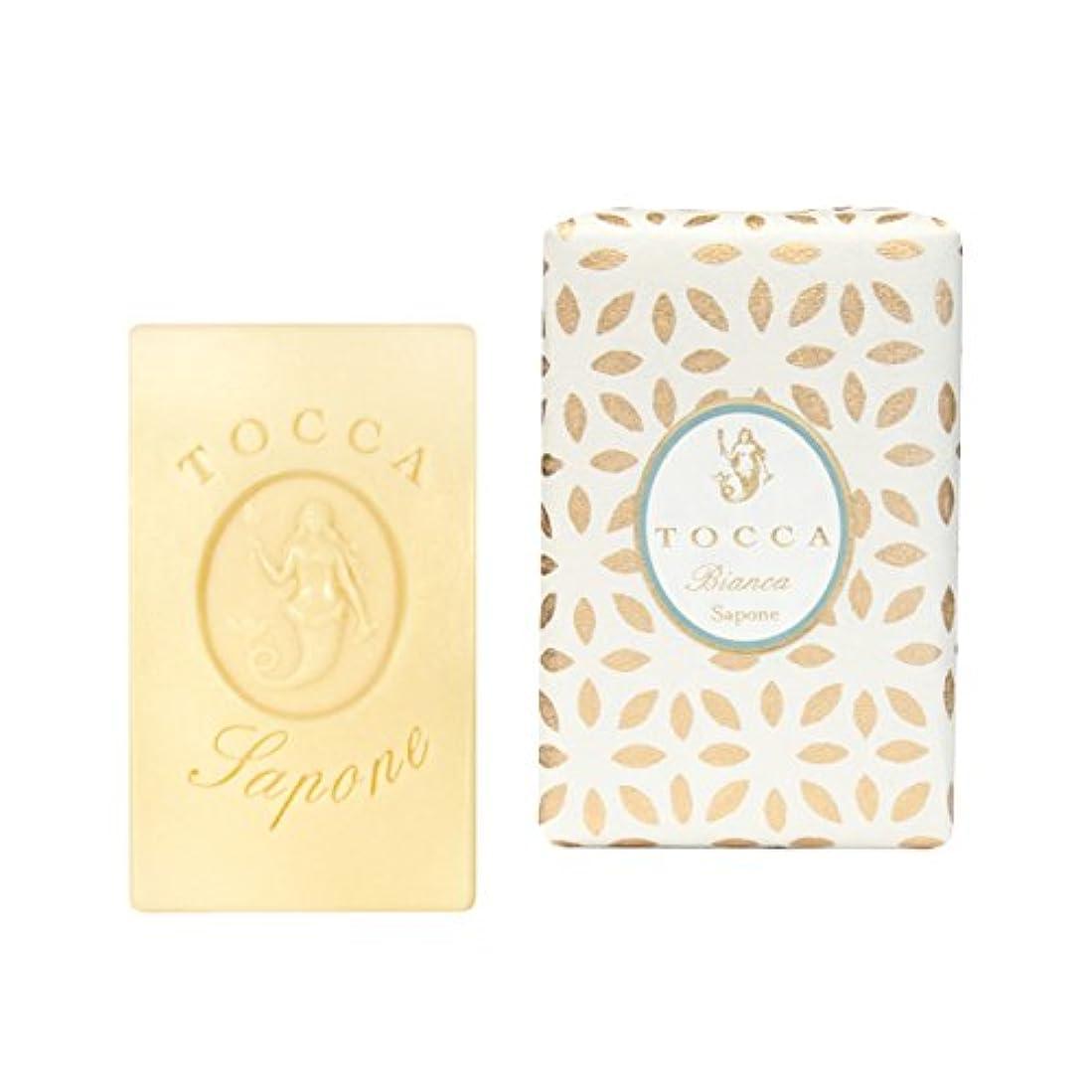 構想する無許可困惑トッカ(TOCCA) ソープバー ビアンカの香り 113g(化粧石けん シトラスとグリーンティー、ローズが絶妙に溶け合ったほのかに甘さ漂うフレッシュな香り)