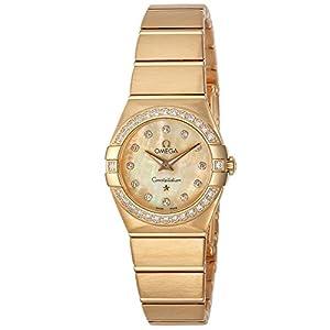 [オメガ]OMEGA 腕時計 Constellation シャンパーニュ文字盤 ダイヤモンド 123.55.24.60.57.001 レディース 【並行輸入品】