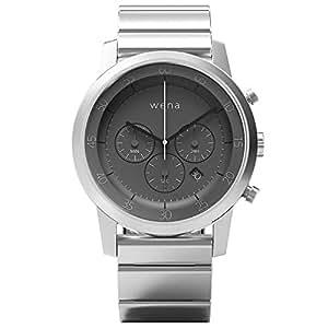 [wena project] wena wrist Chronograph Silver WN-WC01S