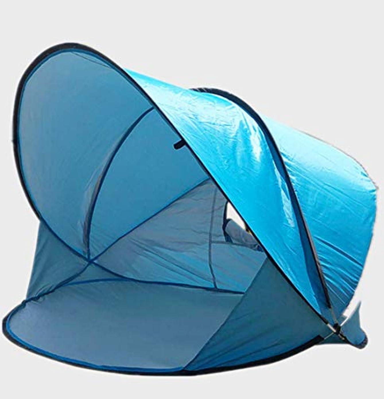 画家プレビスサイト感染する屋外自動ポップアップビーチテント2または3-4人抗紫外線日焼け止め折りたたみ式ポータブル釣りテント