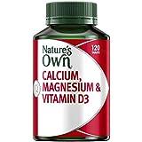 Nature's Own Calcium, Magnesium & Vitamin D3 - Helps Treat & Prevent Osteoporosis - Strengthens Bones & Muscles