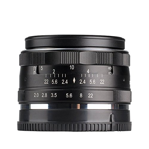 Meike MK 50mm f/2.0 マニュアルフォーカスレンズ Fujifilm Xマウントにミラーレス一眼カメラ対応