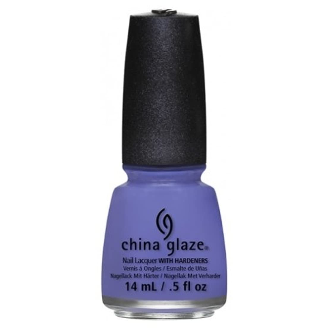 探偵物足りないリネンCHINA GLAZE Nail Lacquer - Art City Flourish - What A Pansy (並行輸入品)