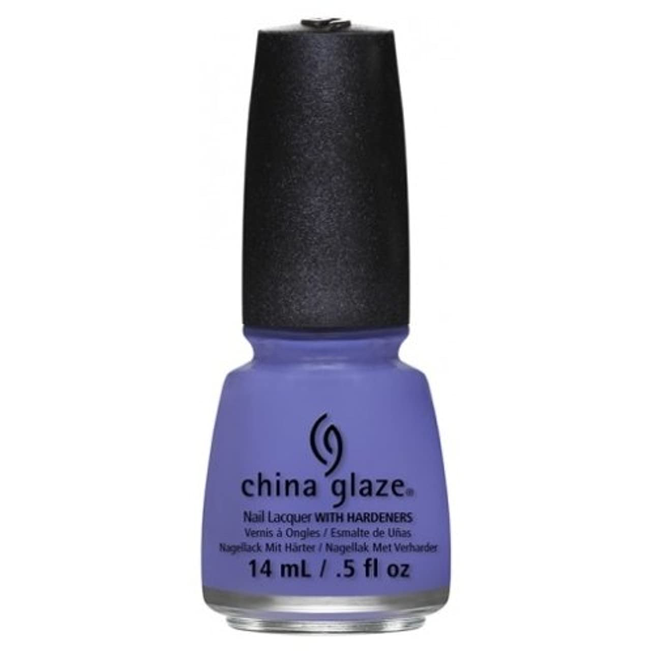 アストロラーベ汚染猫背CHINA GLAZE Nail Lacquer - Art City Flourish - What A Pansy (並行輸入品)