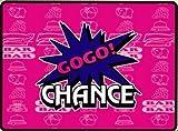 ジャグラー GOGO!ランプ ブランケット BIG [ピンク] ひざ掛け パチスロ スロット グッズ