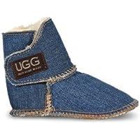 UGG Australian Made since 1974(アグオーストラリアメイド1974) アグ ブーツ ベビー用 シープスキン デニム【正規輸入品】