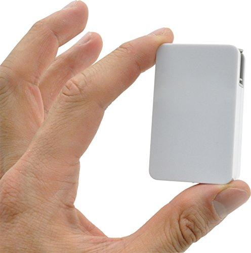 PLATA USB-AC アダプタ 同時充電 可能 最大2.1A UV印刷可能 【2ポート(急速充電2.1A)】 1個