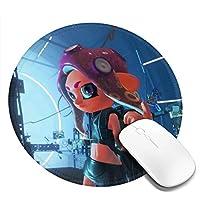 Aligad Mat 4個入リ 3D柄プリント スプラトゥーン2 マウスパッド ゲーミング おしゃれ ゲーミン コンピュータ マウスパッド 大型 カスタマイズ Mouse Pad アクセサリ 防水 滑り止め(4pcs入リ)